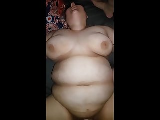 BBW Cum Slut Gets Used And Exposed